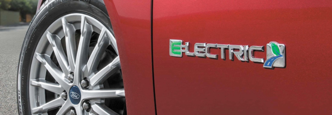word electric on 2018 Red Ford Focus