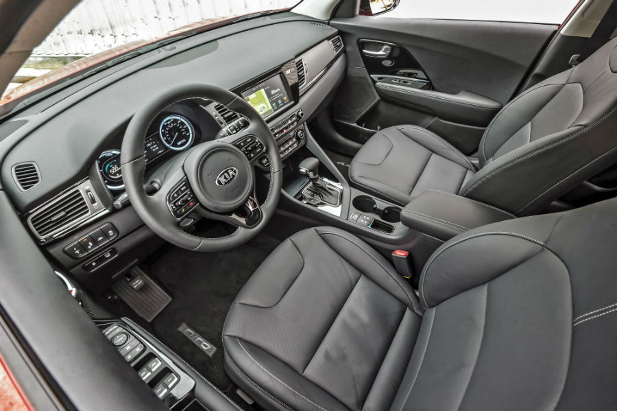 2019 Kia Niro Interior Cabin Front Seating Dashboard