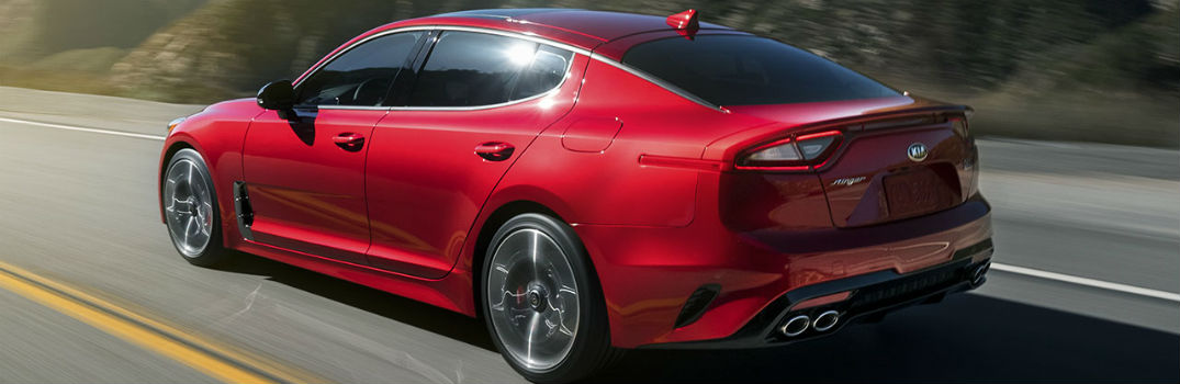 2019 Kia Stinger Exterior Driver Side Rear Profile