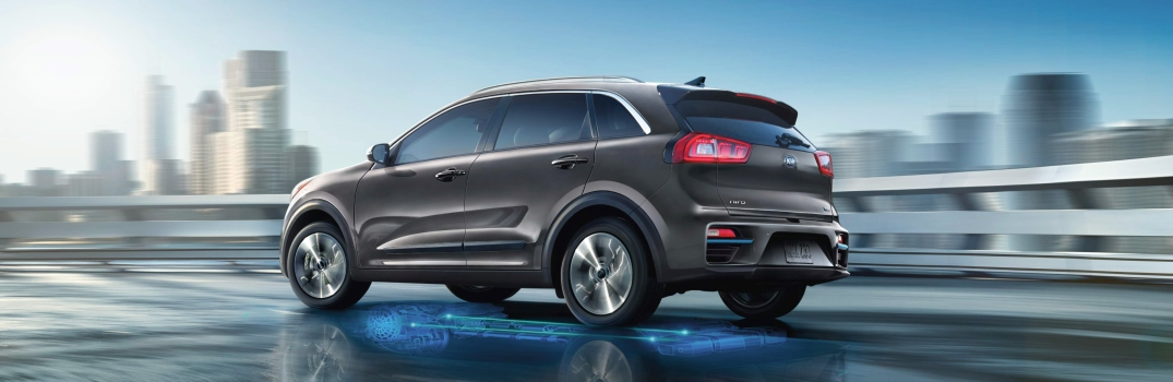 2019 Kia Niro EV Exterior Driver Side Rear Profile