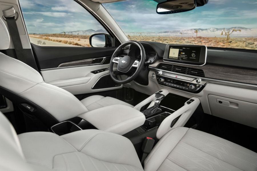 2020 Kia Telluride Interior Cabin Front Seating Dashboard