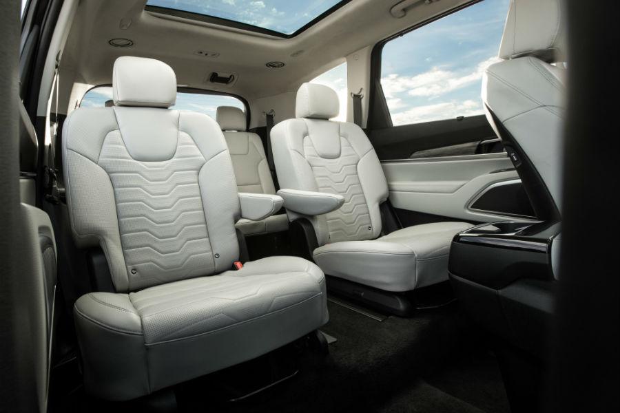 2020 Kia Telluride Interior Cabin Rear Seating