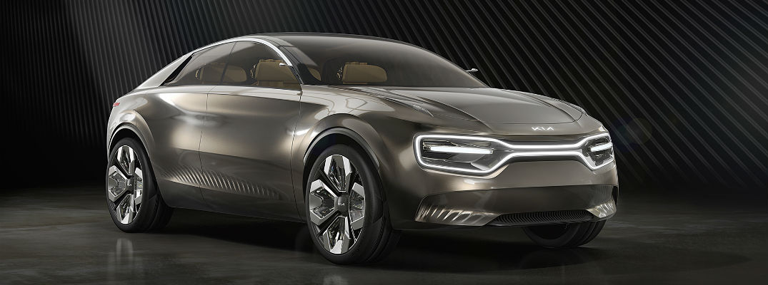 Kia wows the crowd at European auto show with electric concept vehicle