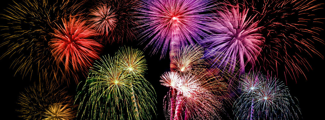 If you're planning a home-based fireworks show, know the rules
