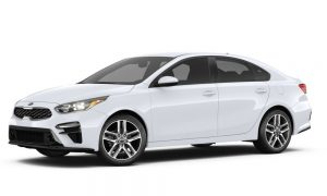 2019 Kia Forte in Clear White color