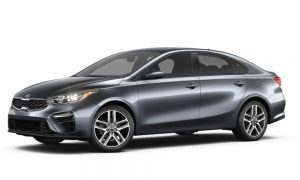 2019 Kia Forte in Gravity Grey color