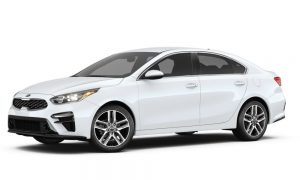 2019 Kia Forte in Snow White Pearl color