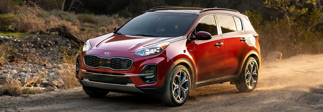 2020 Kia Sportage Trim Level Options & MSRP