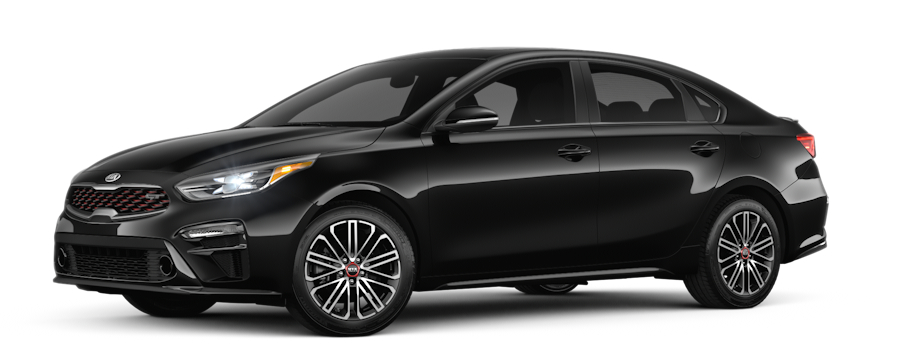 2020 Kia Forte Aurora Black side view