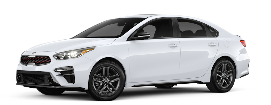 2020 Kia Forte Clear White side view
