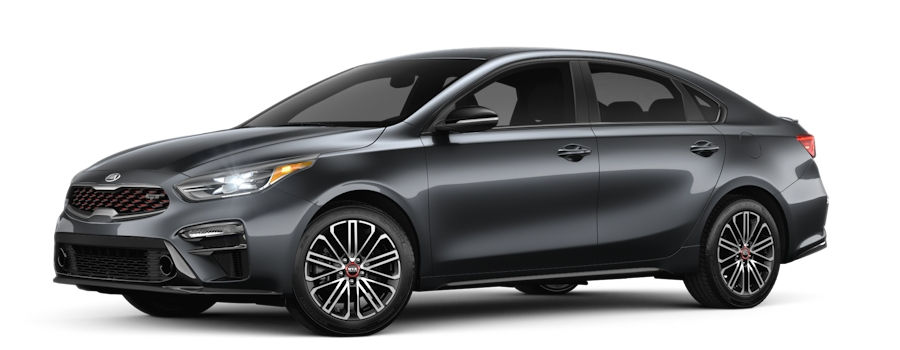 2020 Kia Forte Gravity Gray side view