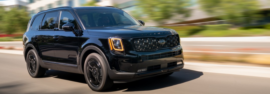 Check Out the All-New 2021 Kia Telluride Nightfall Edition with this Video