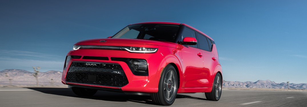 Check Out These Electric Exterior Color Options for the Electric 2021 Kia Soul Lineup at Classic Kia of Carrollton in the Dallas-Fort Worth Area of Texas