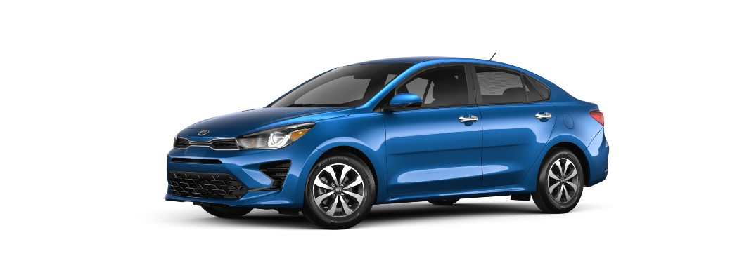What are the Passenger and Cargo Space Measurements for the 2021 Kia Rio and 2021 Kia Rio 5-Door Lineups at Classic Kia of Carrollton in the Dallas-Fort Worth Area of Texas?