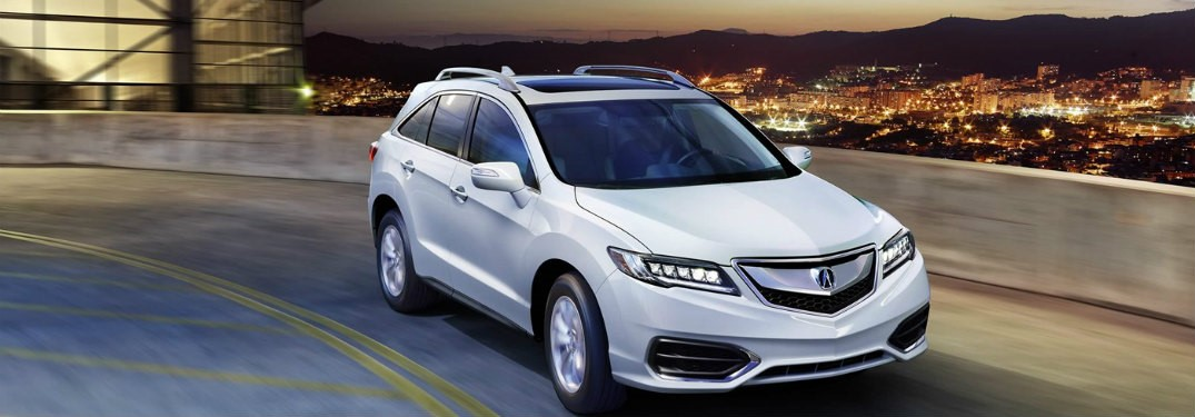 2018 Acura RDX Storage Space Details