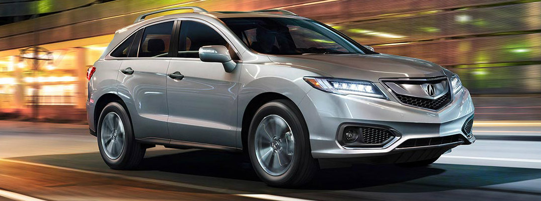 Acura RDX from the 2016 model year