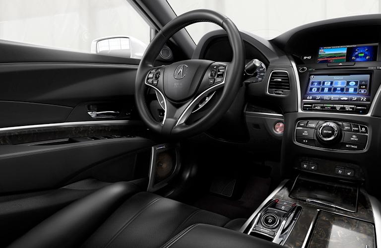 2020 Acura RLX dashboard