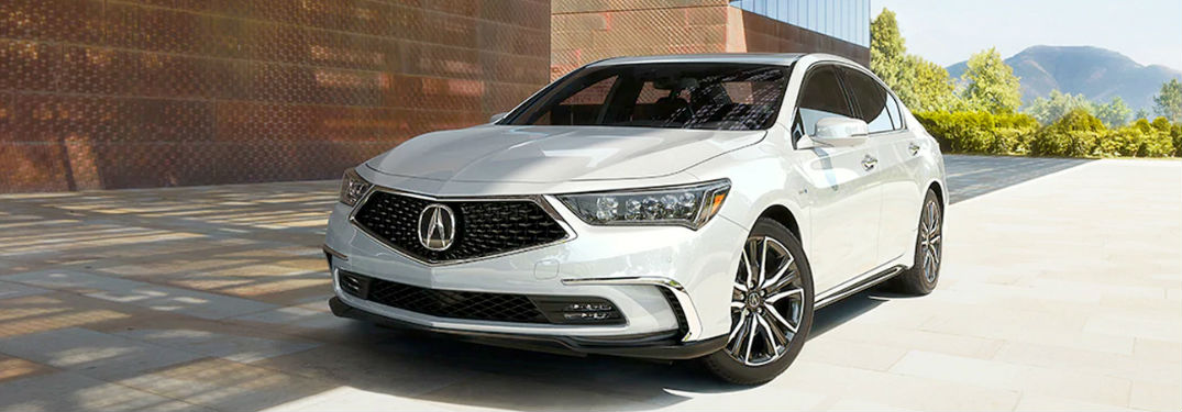What colors are available on the 2020 Acura RLX?