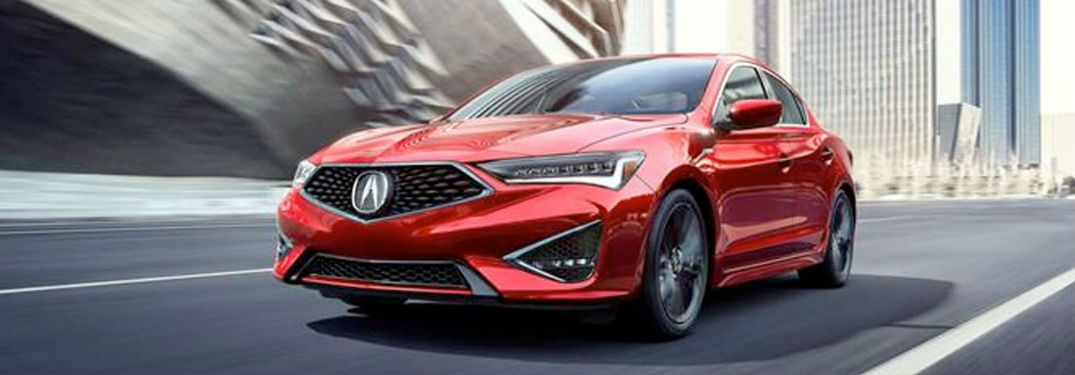 2020 Acura ILX in red