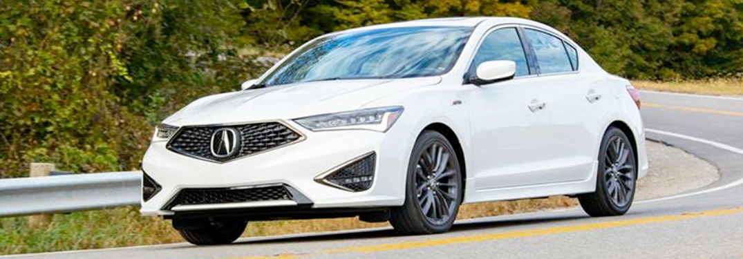 2020 Acura ILX in white