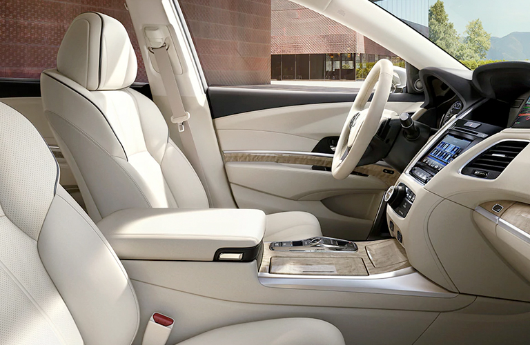 2020 Acura RLX front seating