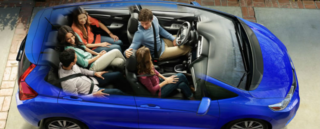 Honda magic seat feature and cargo capacity for Honda hrv cargo space