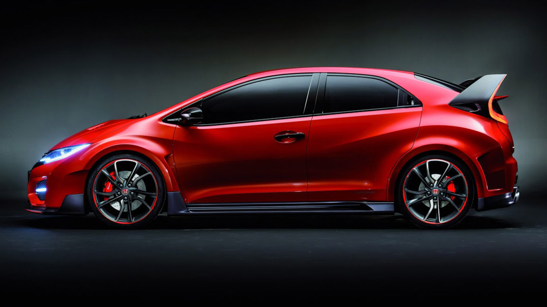 Honda's European 2015 Civic Type R to premiere in Geneva