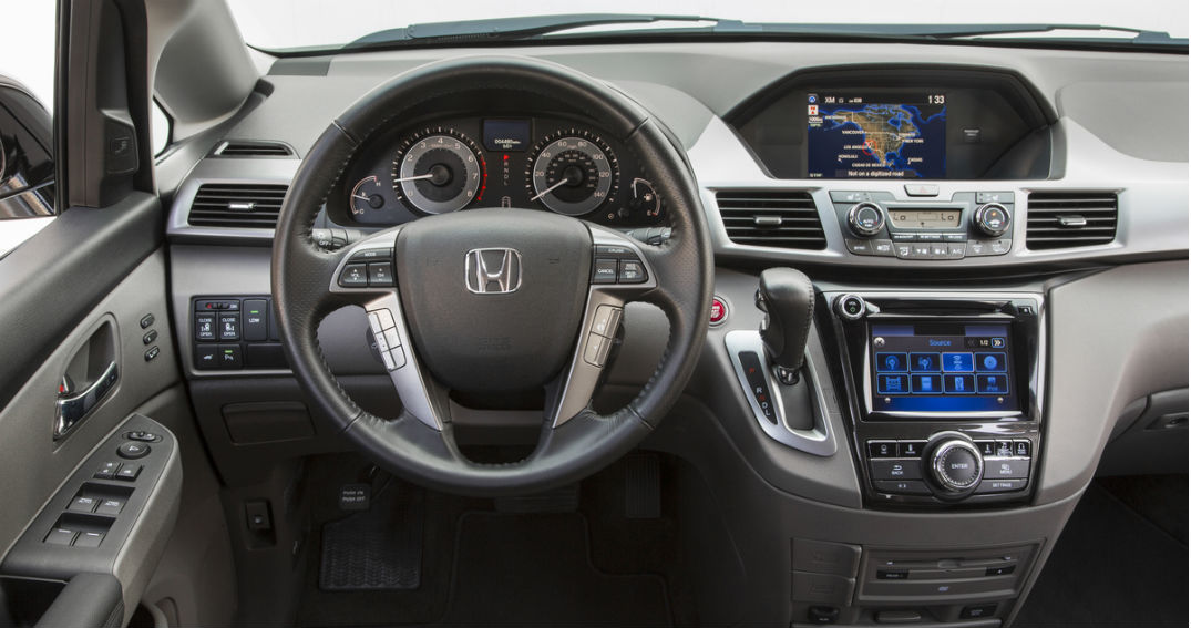 2015 honda odyssey interior continental honda. Black Bedroom Furniture Sets. Home Design Ideas