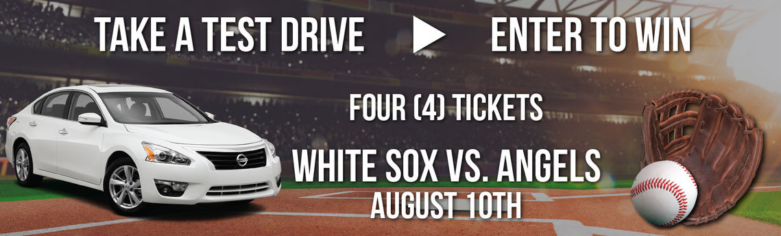Test drive for your chance to win White Sox vs. Angels tickets