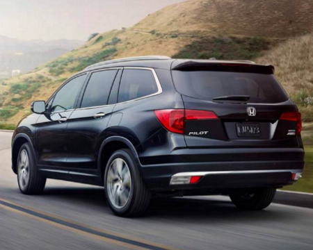 Best Family Cars 2016 Honda Pilot
