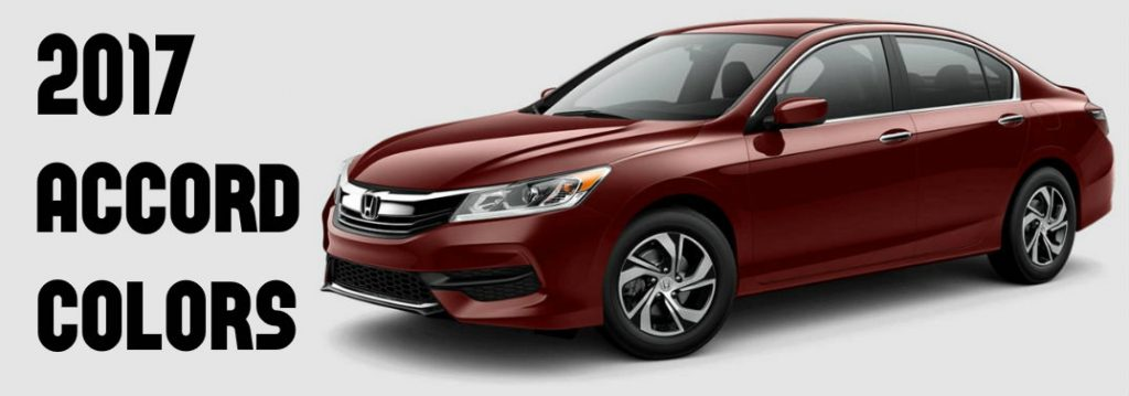 2017 honda accord interior and exterior color options. Black Bedroom Furniture Sets. Home Design Ideas