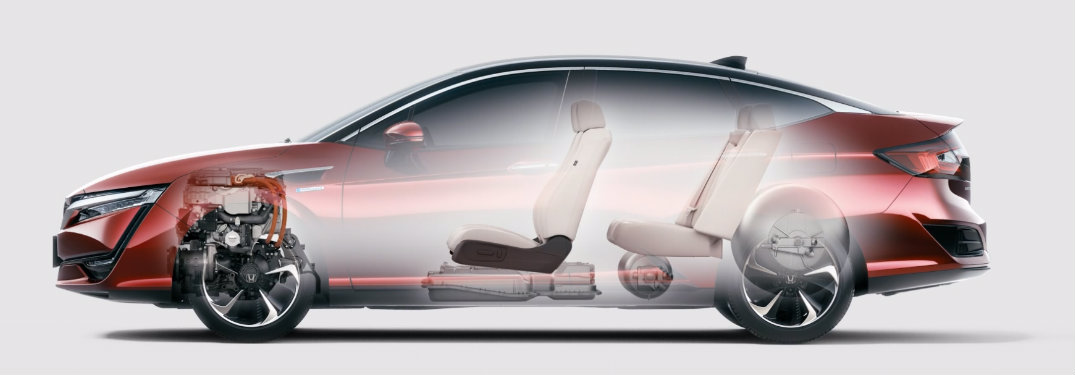Honda Clarity Fuel Cell Design