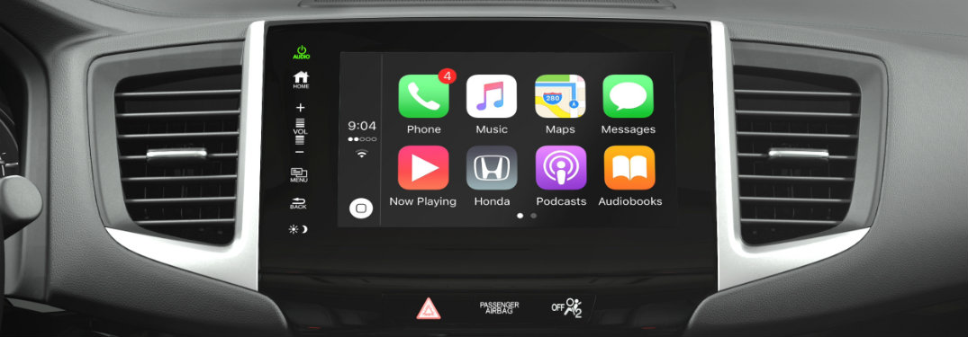 apple carplay honda pilot