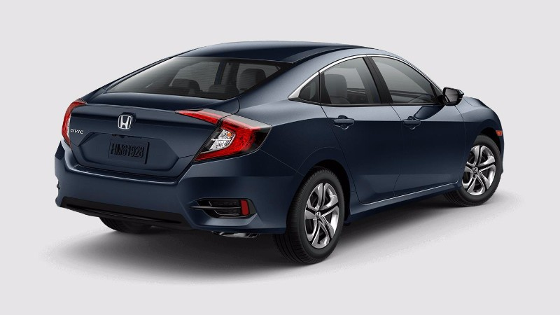 2017 Honda Civic Sedan Cosimic Blue