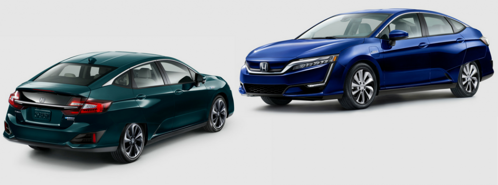 2018 Honda Clarity Plug-in Hybrid and Clarity Electric