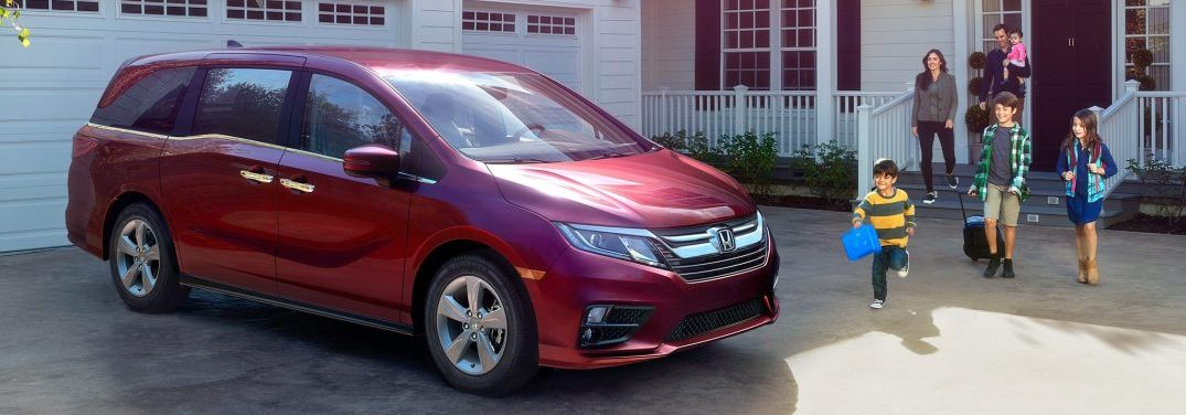 View The 2018 Honda Odyssey Exterior Color Options
