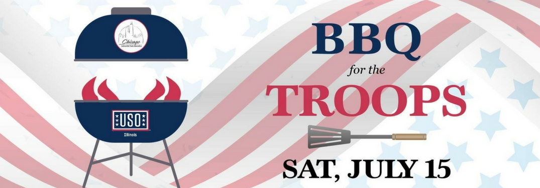 Continental Hosts USO BBQ Event for the Troops!