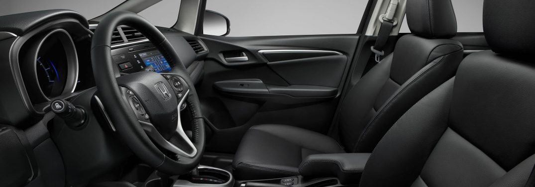 2018 honda fit interior leather