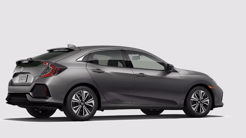 2018 Honda Civic Hatchback Polish Metalic