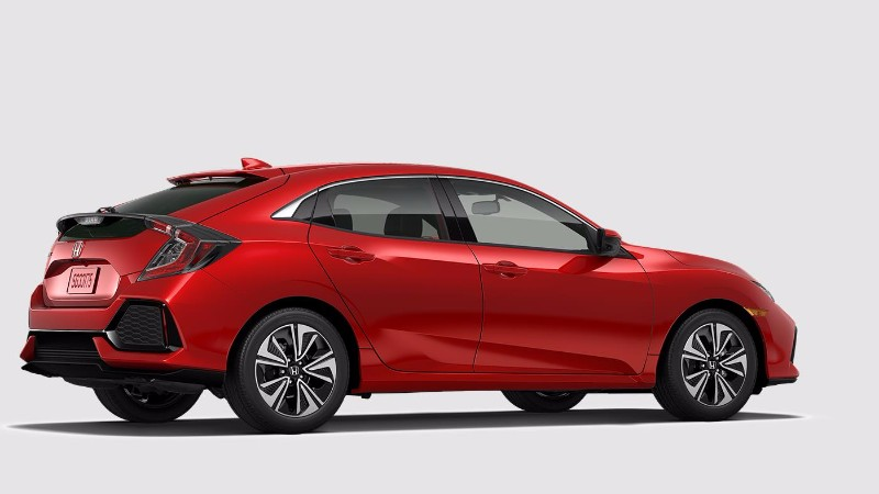 2018 Honda Civic Hatchback Rallye Red