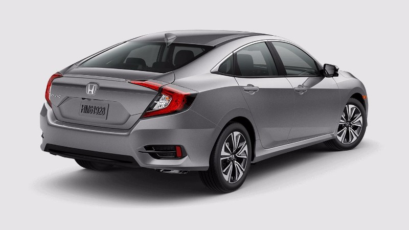 2018 Honda Civic Sedan in Lunar SIlver Metallic