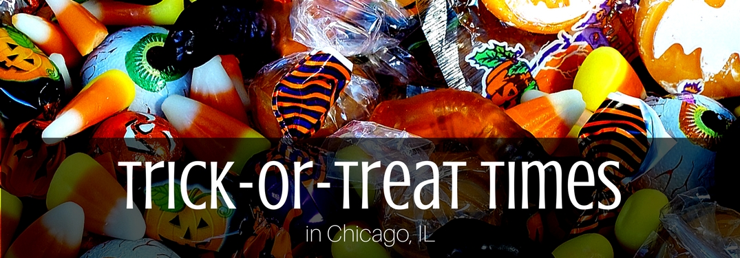 Trick or Treating Times Chicago