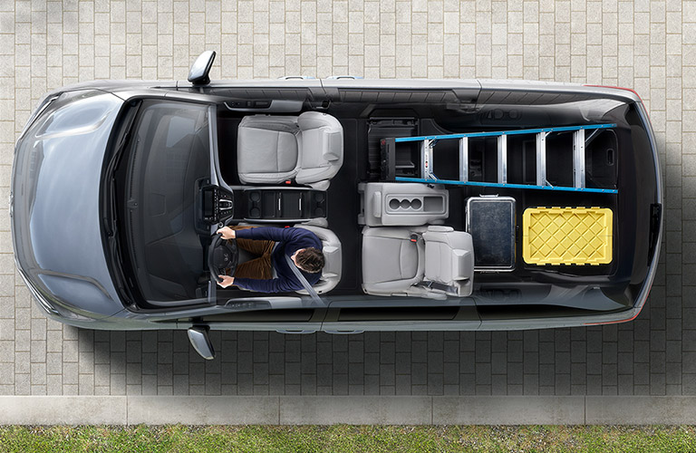 2017 Honda Odyssey Configurations >> How Much Cargo Space Is There Inside The 2018 Honda Odyssey