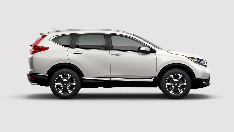 What colors does the 2018 honda cr v come in for White honda crv