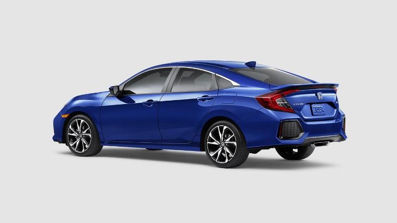 2018 Honda Civic Si in Aegean Blue Metallic