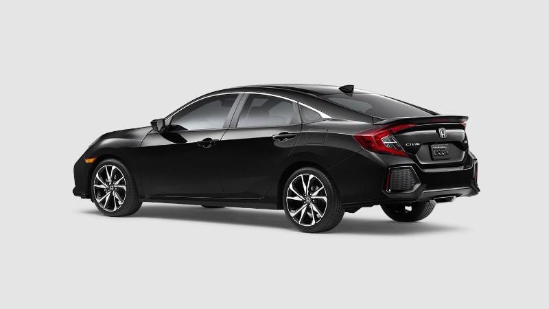2018 Honda Civic Si in Crystal Black Pearl