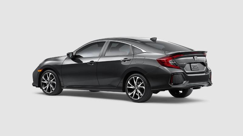2018 honda civic si sedan exterior color options for Honda civic modern steel