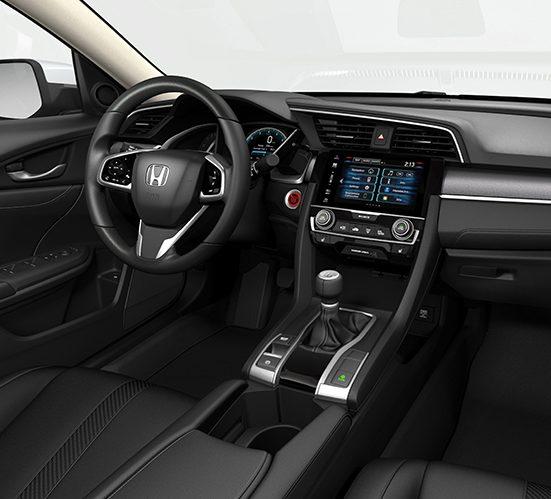 the best 2018 honda civic sedan interior features