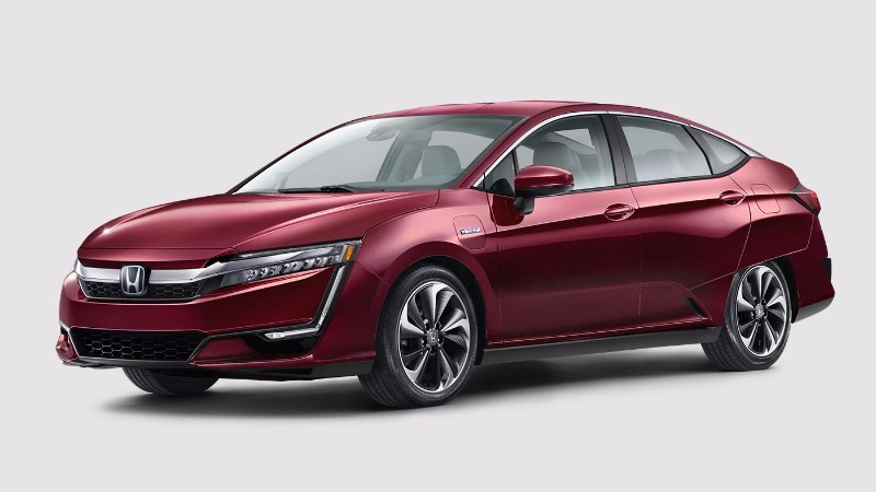 2018 Honda Clarity Plug-In Hybrid in Crimson Pearl