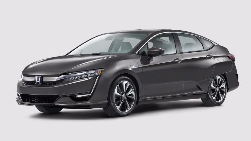 2018 Honda Clarity Plug-In Hybrid in Modern Steel Metallic